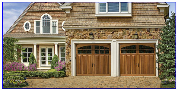 premium wood garage door in San Ramon ca