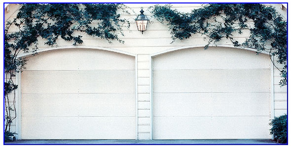 wood panel garage doors in San Ramon